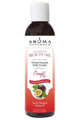 Aroma Naturals Extraordinary Body Oil SuperFruit Passion Fruit Sensual Therapeutic Massage Oil - Aroma Naturals масло расслабляющее для массажа тела